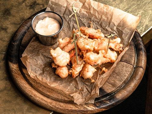 Попкорн из креветки с тайским соусом