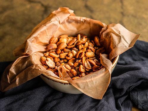 Жареный арахис масала
