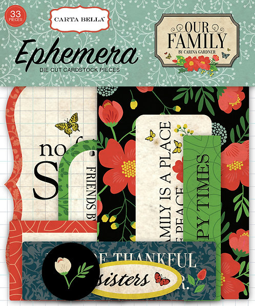 Our Family Ephemera Pack