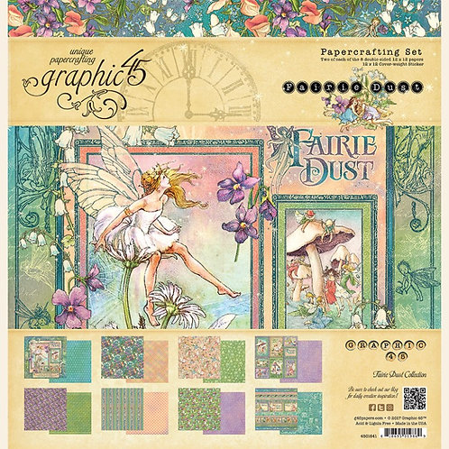 Graphic 45 Fairie Dust Collection Pack