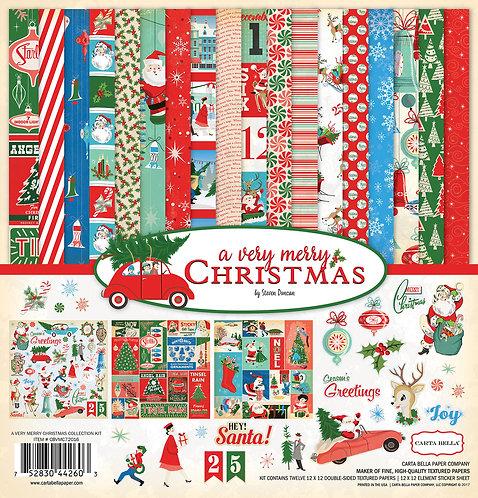 Carta Bella A Very Merry Christmas