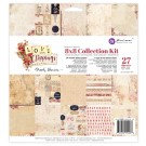 Prima Love Clippings 8x8 Collection Kit