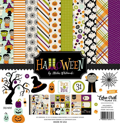 Echo Park Halloween Collection Kit