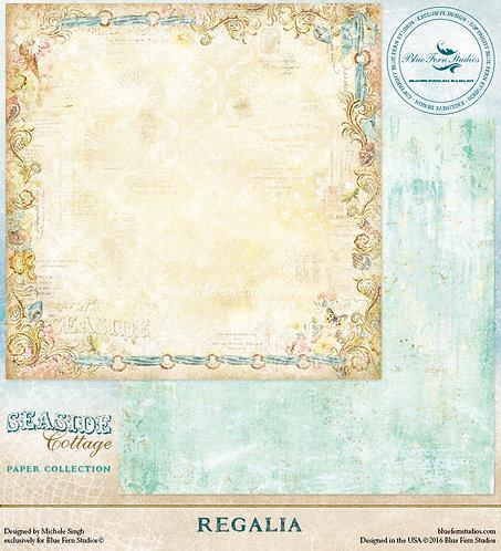 Blue Fern Regalia