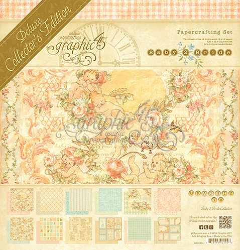 Graphic 45 Baby 2 Bride Deluxe Collector's Edition