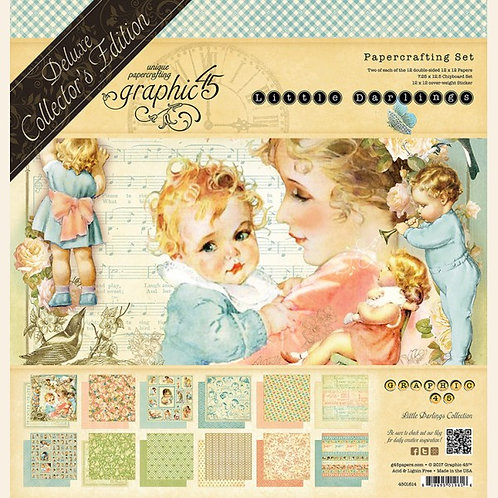 Graphic 45 Little Darlings Collection