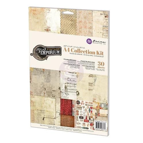 Prima Vintage Emporium A4 Paper Pad