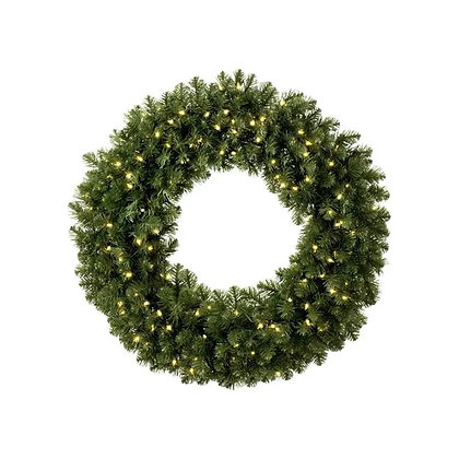 Lighted Wreath - wholesale