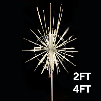 LED Snowfall Tree Topper