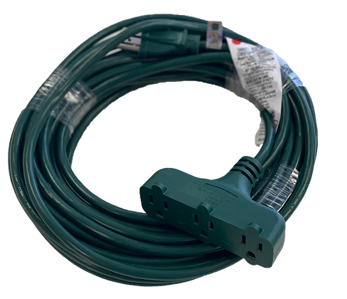 Outdoor t-Block Extension Cord 40ft