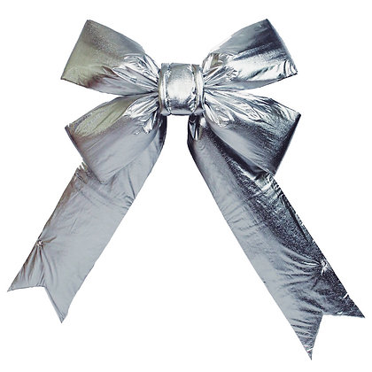 Commercial Grade Silver Bows - wholesale