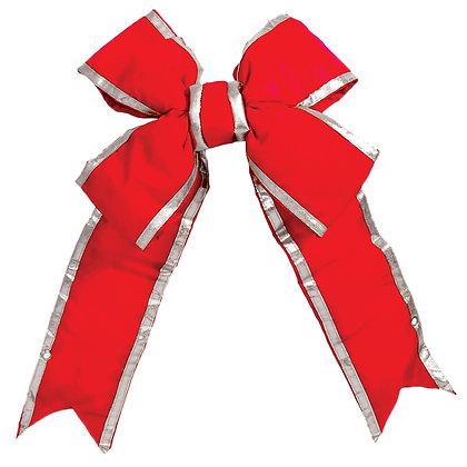 Red Ribbon w/Silver Trim - wholesale