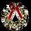 "Thumbnail: Used - 48"" Lighted Wreath"