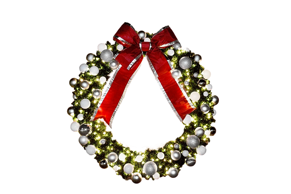 """Used - 48"""" Lighted Wreath"""