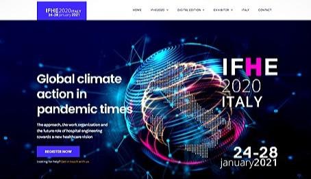 Participação da Envereda Arquitetura no IFHE 2020 ITALY - GLOBAL CLIMATE ACTION IN PANDEMIC TIMES