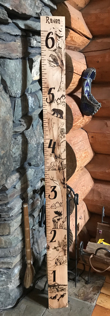 Maple Wood Raven Growth Chart