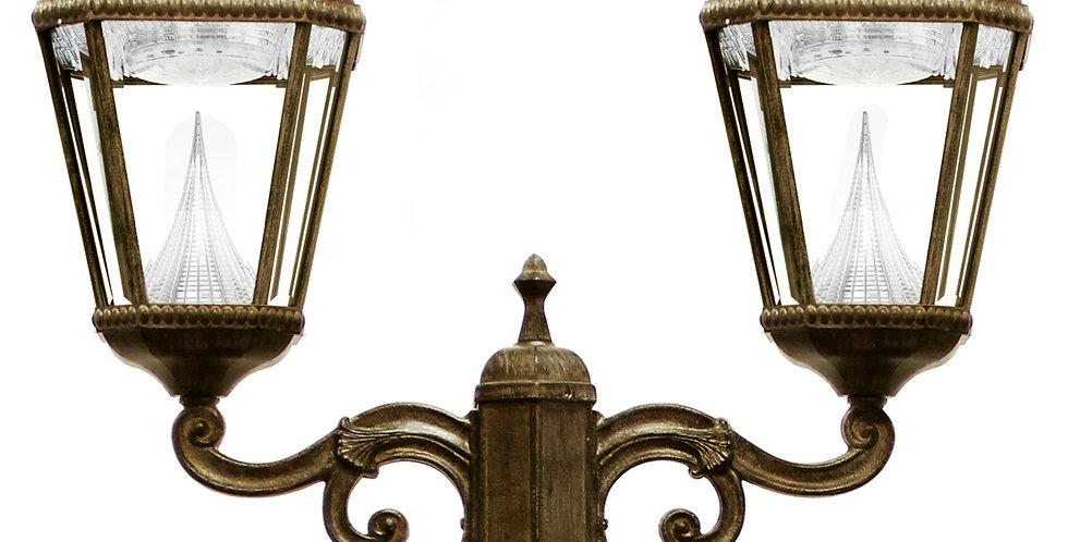 Gama Sonic Double Royal Post Lamp