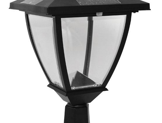 Classy Caps Elegante Post Lamp