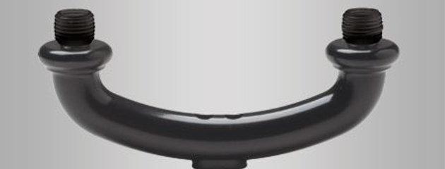 Deckorators Arched Duo Round Connector
