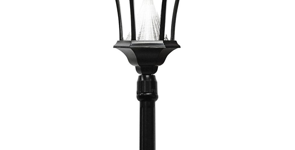 "Gama Sonic Single Victorian Post Lamp (42"")"