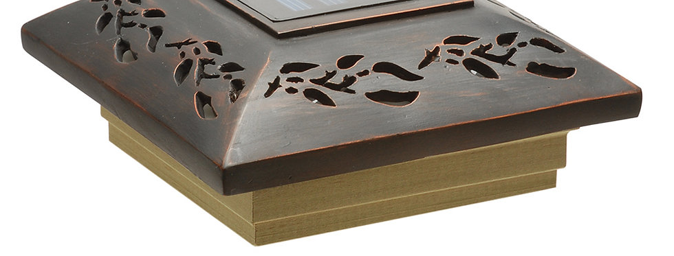 Deckorators Designer Leaf Solar
