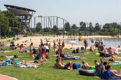 Billy Bird: Hemelrijk park en zwemgelegenheid