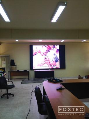 จอห้องประชุม P5 @มหาวิทยาลัยนครพนม