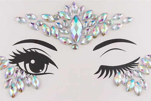 Festival Rhinestone Face Body Art Gems