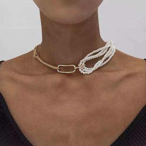 Pearl Chain Pendant