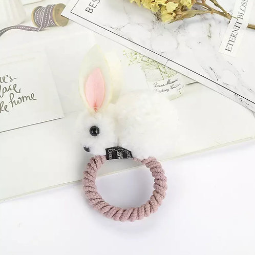 Bunny Ears Hair Scrunchie Tie