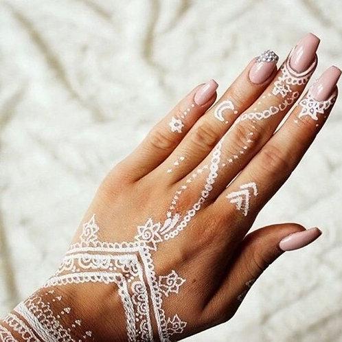 White Henna - Body Art