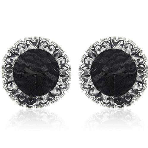 Fancy Black Lace Pasties