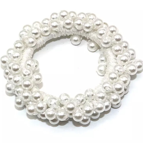 Pearl Hair Scrunchie
