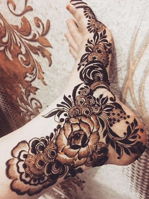 Brown Henna - Body Art