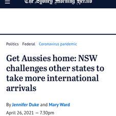 Get Aussies home: