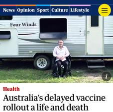 Australia's delayed vaccine rollout
