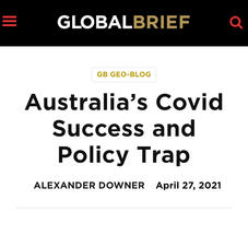 Australia's Covid Success and Policy Trap
