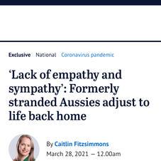 Lack of empathy and sympathy