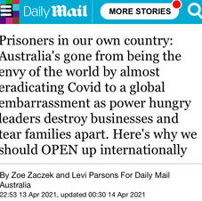 Prisoners in our own country