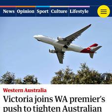 Victoria joins WA premier''s push to tighten