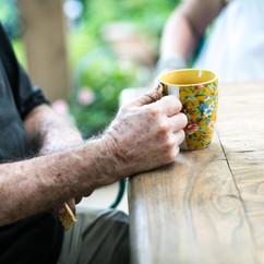 כוס הקפה של הבוקר