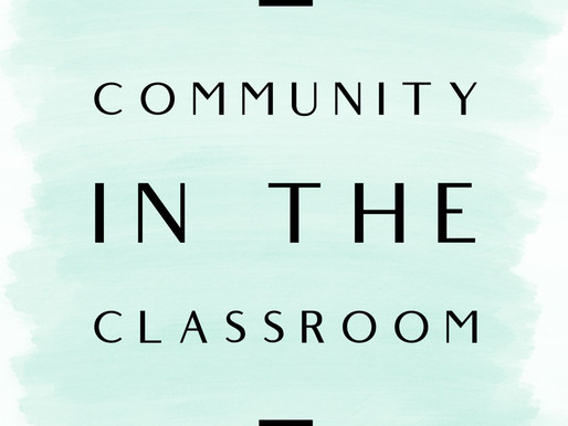 Building Community at School