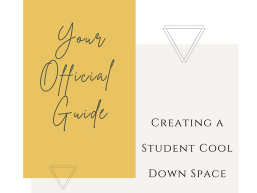 Your Official Guide to Creating a Trauma Supportive Cool Down Space