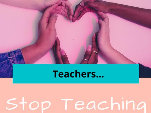 Teachers, stop teaching empathy!