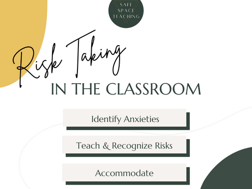 3 Ways to Support True Risk Taking in Your Classroom