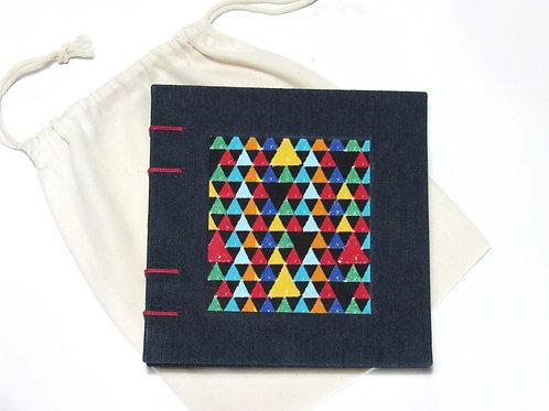 """Requadro """"geométrico"""" quadrado"""