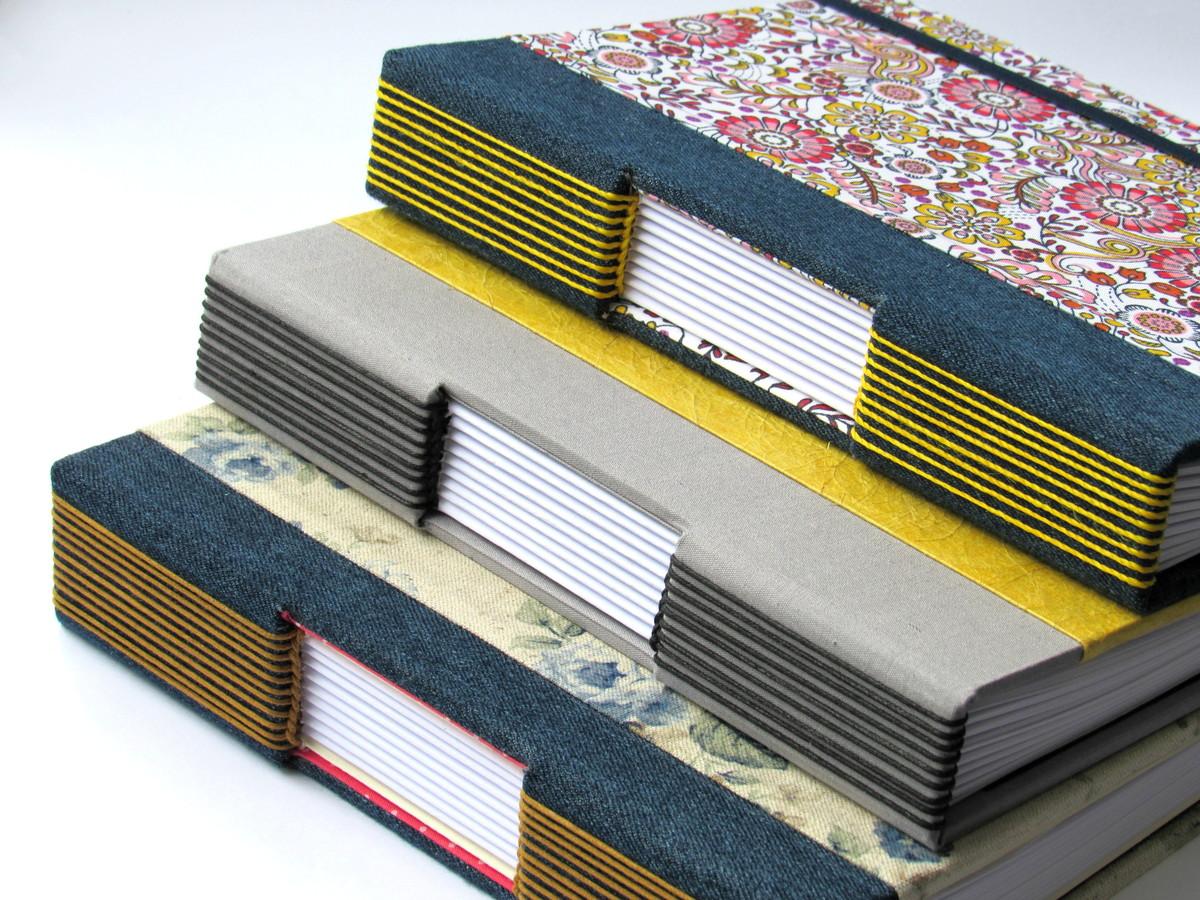 cadernos artesanais A5