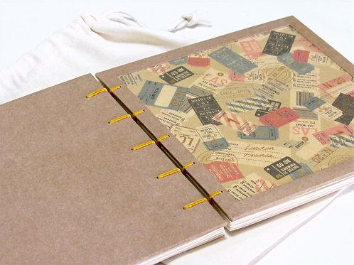 Moldura com origami - craft com craft