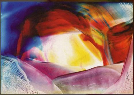 """Deixe brilhar a sua luz"" – pintura encáustica – Rolan J.Scheid SVD, Steyl"
