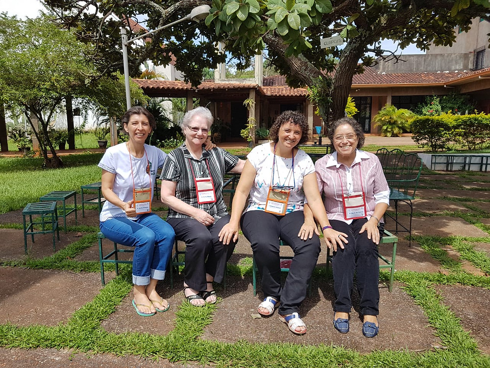 Representantes das MSSpS no III Encontro Nacional da Rede Brasileira de Justiça e Paz